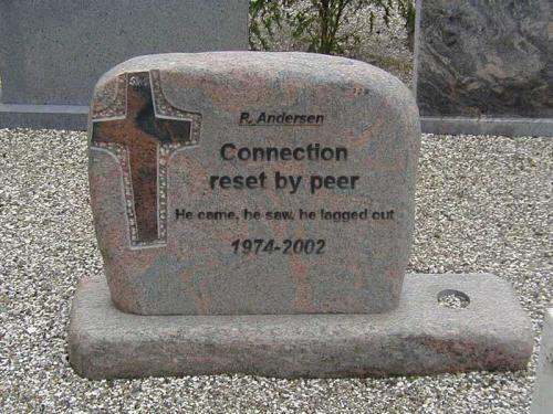 Geek's Tombstone